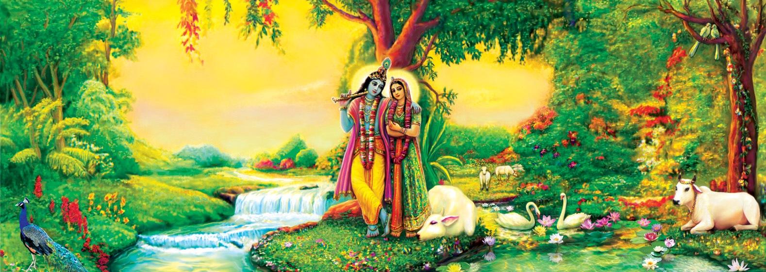 radha-and-krishna-the-spiritual-world